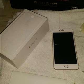 Iphone 6 Plus 16Gb (Gold) Full Box 9/10 Condition
