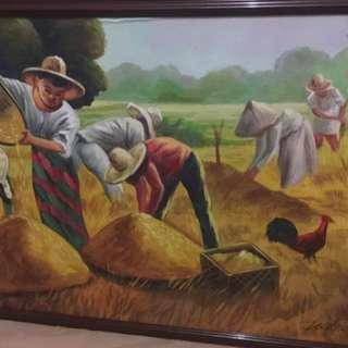 Philippine Harvest  Painting