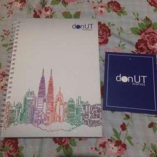 Donut Scarves Notebook