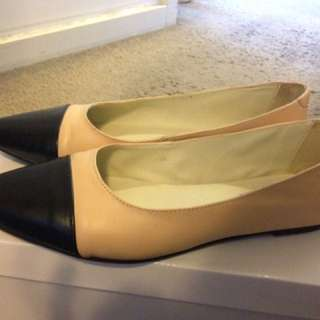 WAREHOUSE Pointed Ballet Flats Size 38