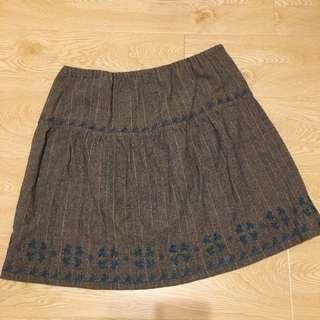 日系品牌短裙