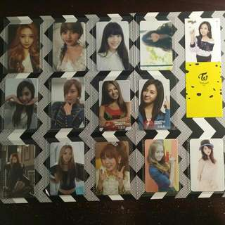 Official Photocards (F(x), SNSD/Girls' Generation, Orange Caramel)
