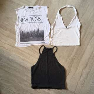 Brandy Crop Tops