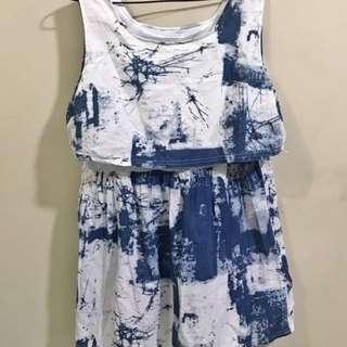 Denim-Like Dress