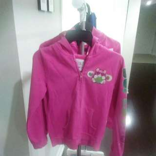 Girls Pink Hoodie Size Me 7/8 Children Place