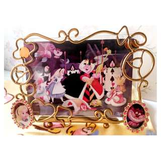 全新轉賣 迪士尼 日本 絕版 愛麗絲夢遊仙境 相框  #運費我來出