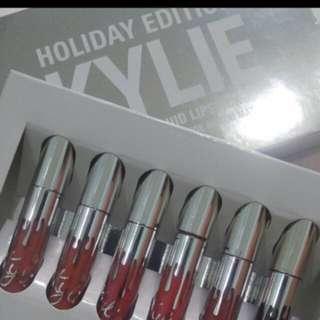 Kylie Matte Liquid Lipstick - Holiday Edition