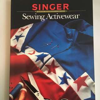 Singer Sewing Reference Library Sewing Active Wear Paperback