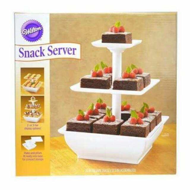 3 Tier Snack Server