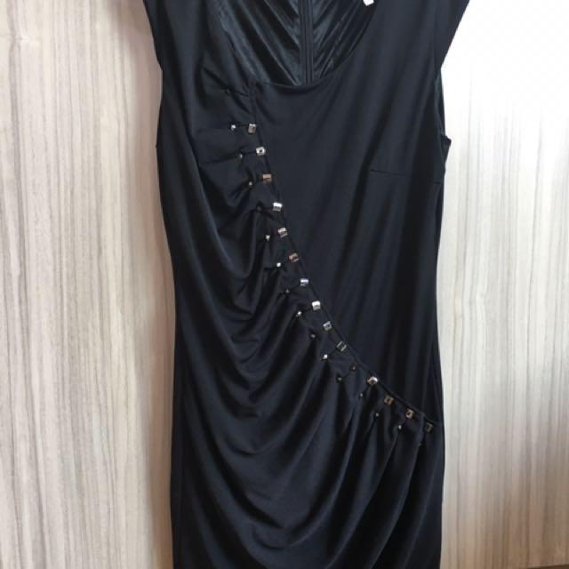 黑色貼身小禮服#轉轉來交換#我的旋轉衣櫃