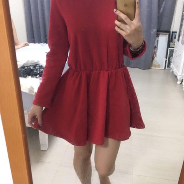 小紅帽洋裝