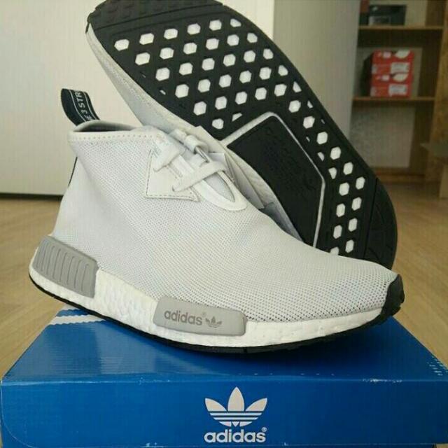 adidas nmd c1 white chukka