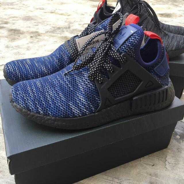 Adidas NMD XR1 JD Sport Exclusive. Black Black and Black Blue