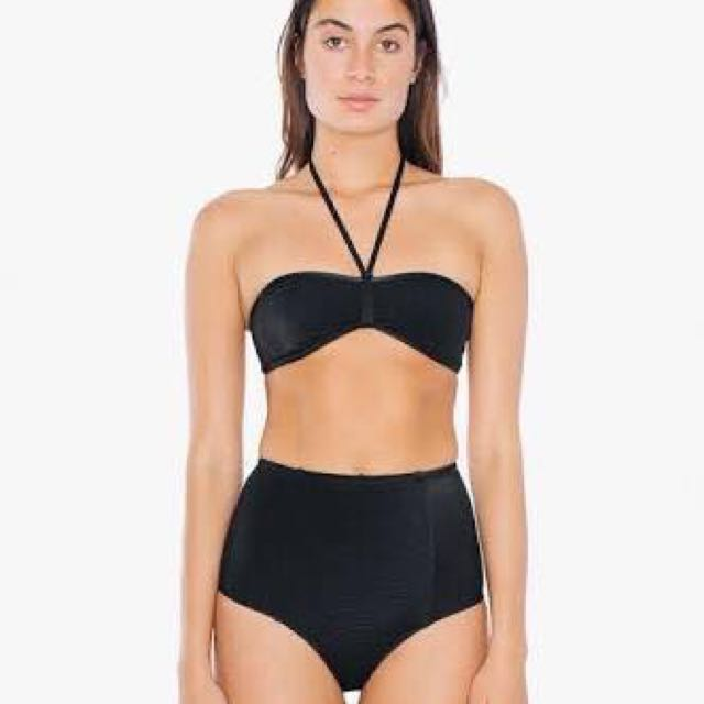 American Apparel High Wait Bikini Bottom