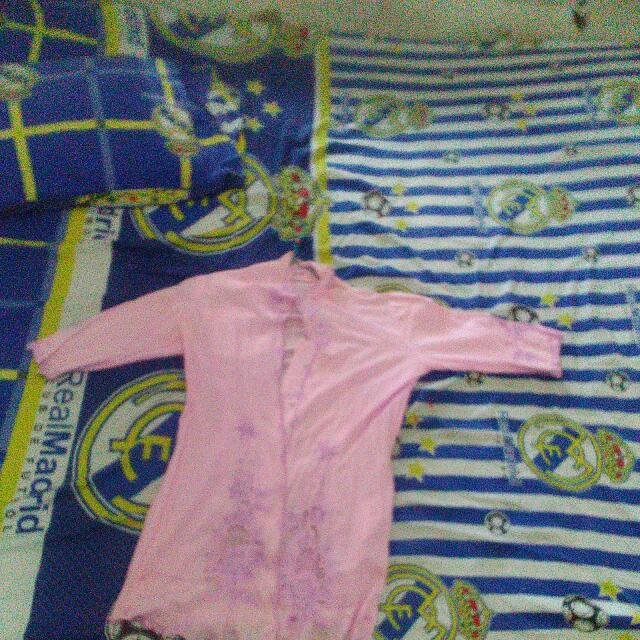 Baju Kebaya Warna Pink