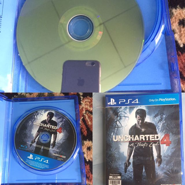 """Bd Ps4 """"uncharted 4"""""""