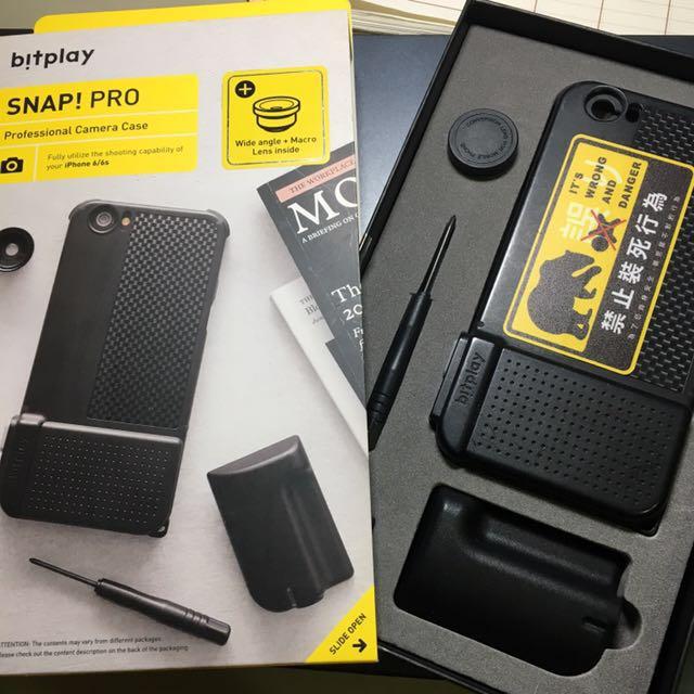 Bitplay SnapI6/I6s 相機殼