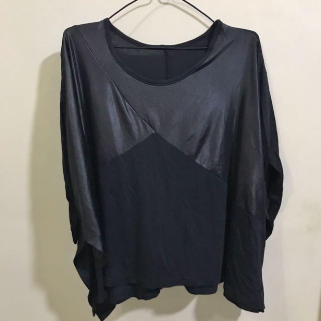 Black Party Blouse