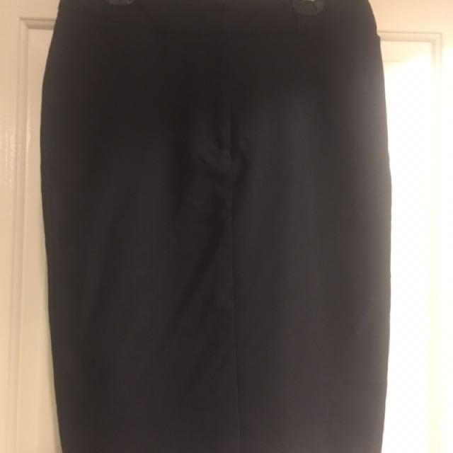 Black Pencil Skirt Size 10 Target