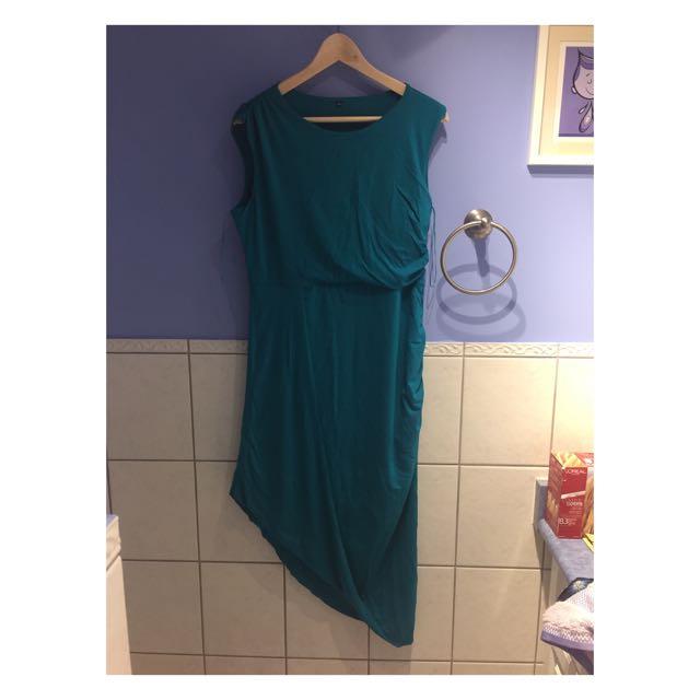 Bleu/green Dress