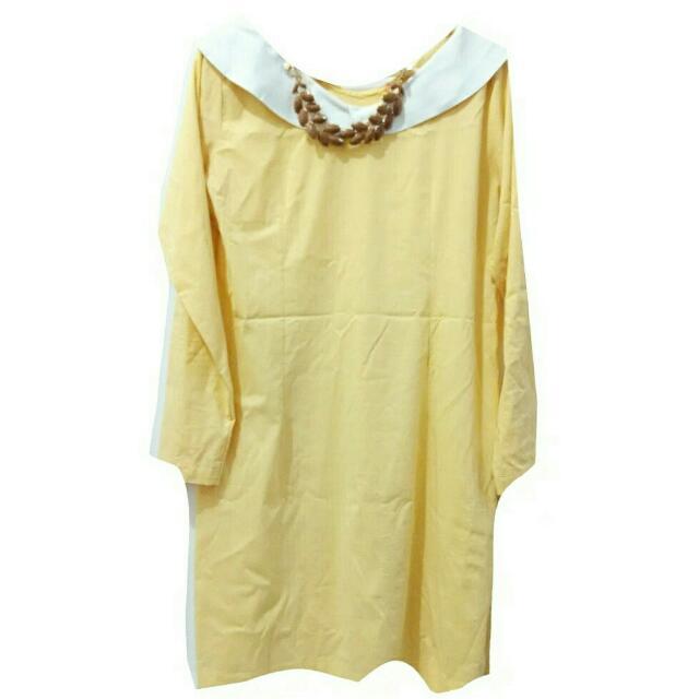 Blouse Soft Yellow sz L