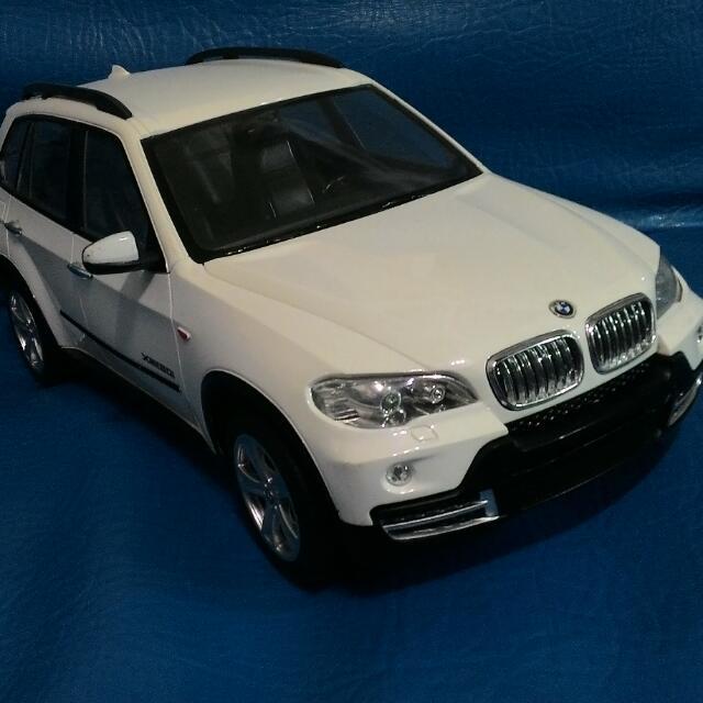 BMW X5 塑膠模型車 1:14