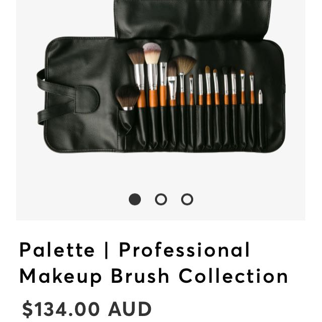 BRAND NEW professional makeup brush collection #sunrisetv