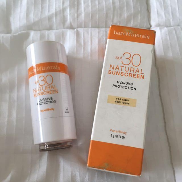 Brand New Sealed Bare Minerals Powder Sunscreen SPF30