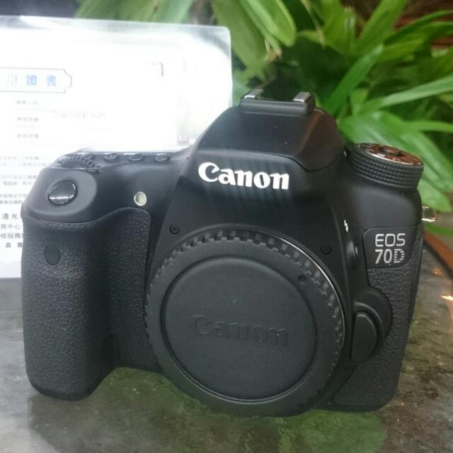 Canon 70D body Only no Box charger,strap Camera, Memory
