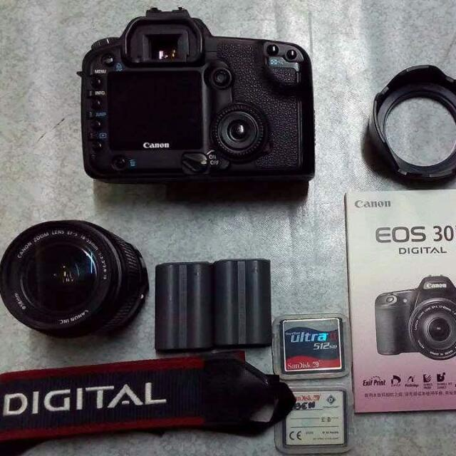 (REPRICE) Canon EOS 30D Complete Set with box #RUSH sure buyer