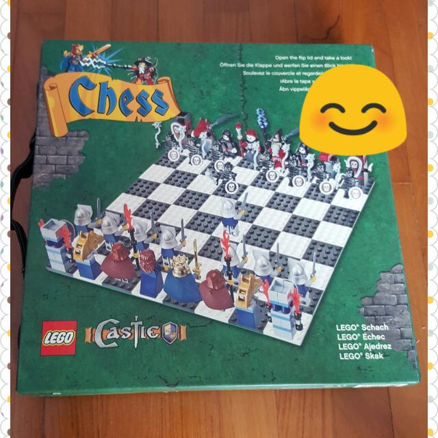 Chess Castle Lego Set
