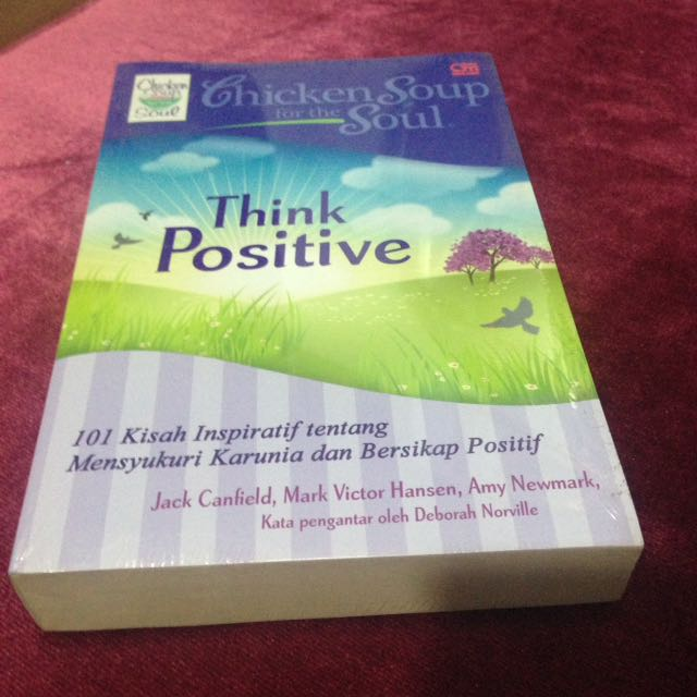 "Chicken Soup for the Soul ""THINK POSITIVE"""