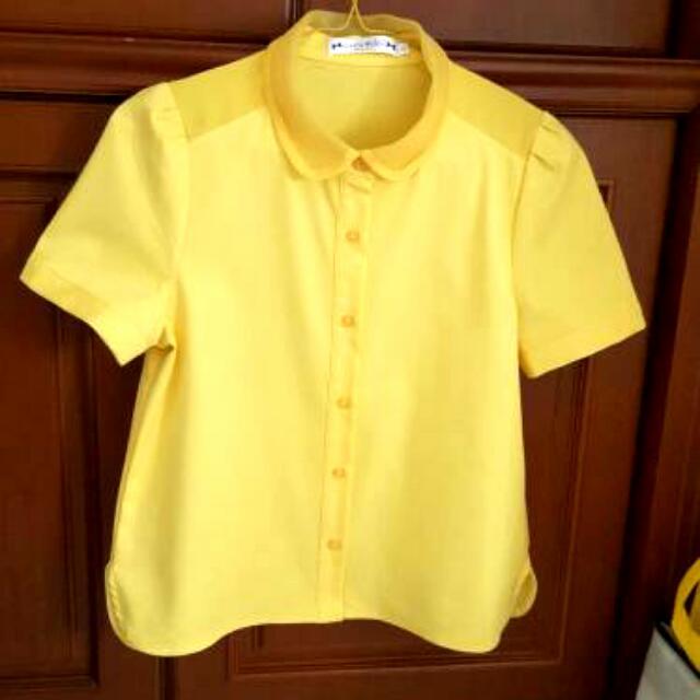 Coco Kellen Yellow Shirt