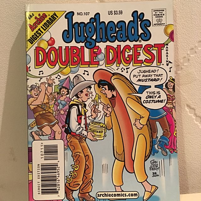 Comic : Jughead's Double Digest