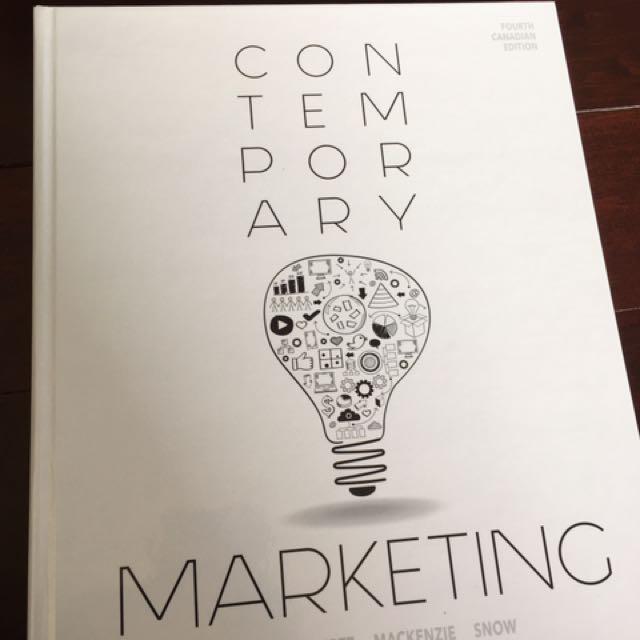 Contemporary Marketing - Boone