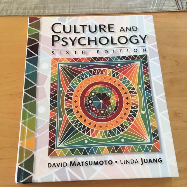 Culture And Psychology: David Matsumoto And Linda Juang