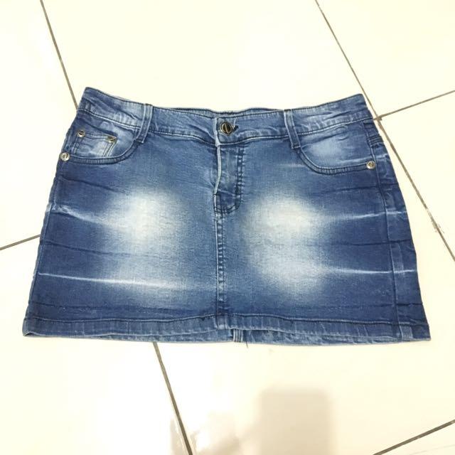 Denim Skirt New
