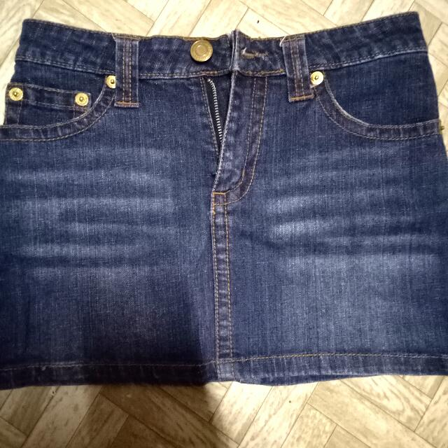Denim Skirt  size (25)