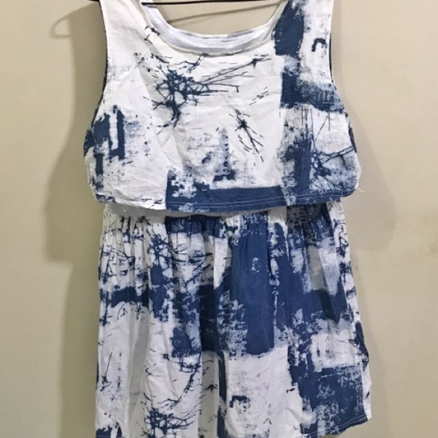 Denim-Like Dress