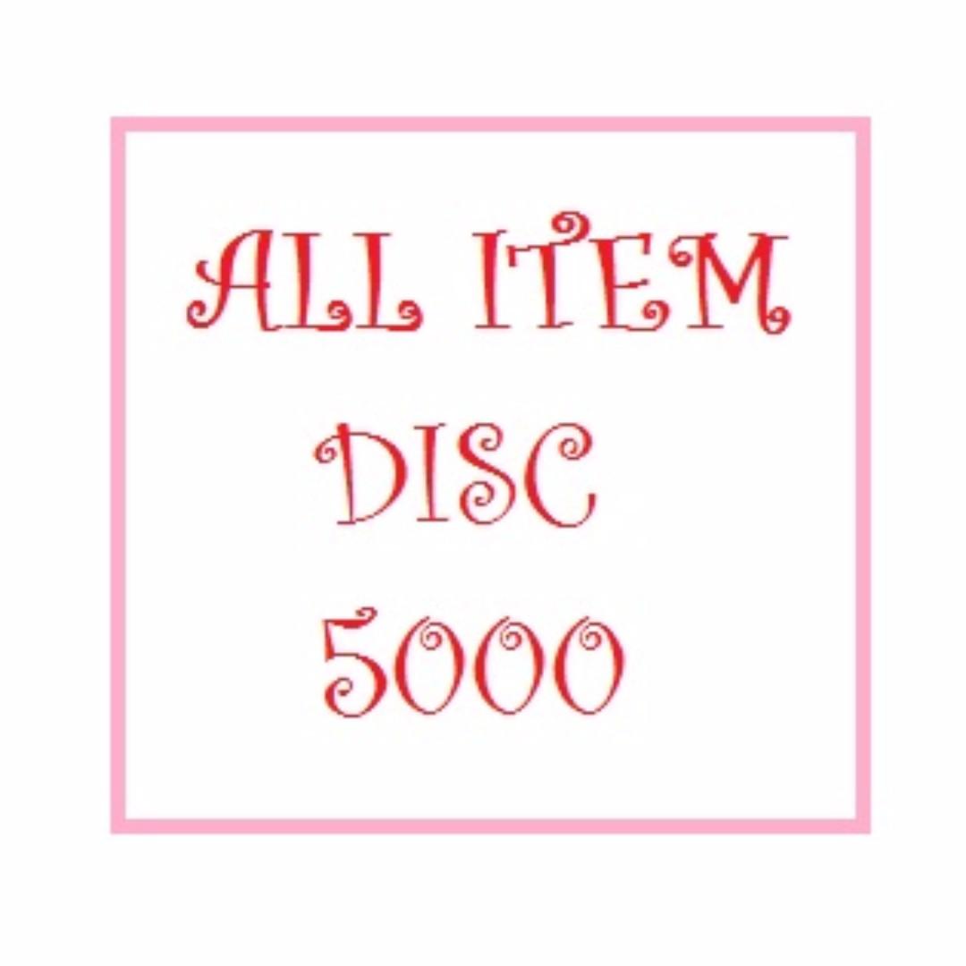 Discount 5000 All Item
