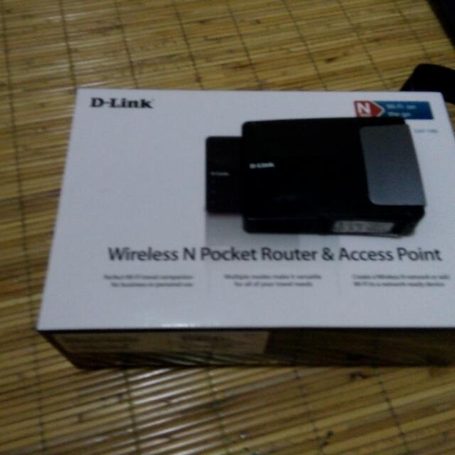 D-link N300 WiFi on the go
