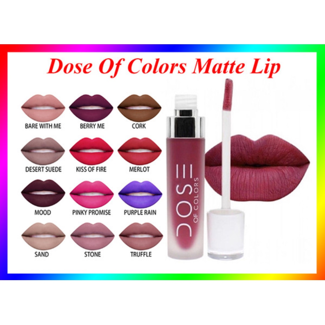 DOSE OF COLOURS LIPSTICKS