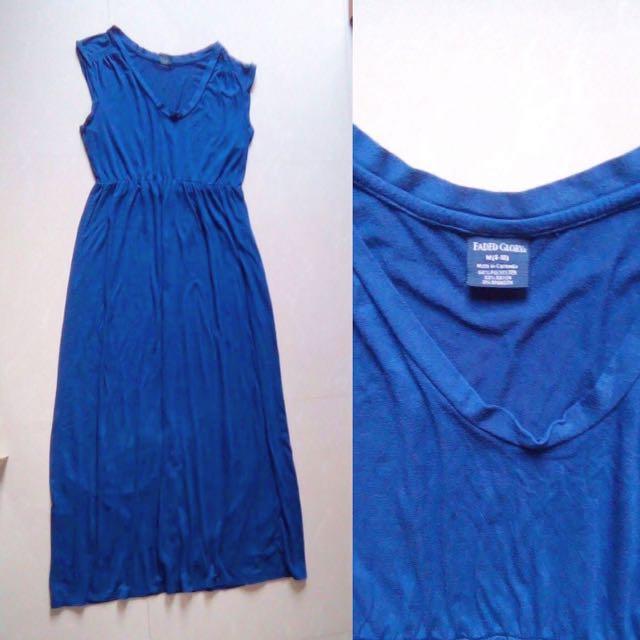 Faded Glory Blue Dress