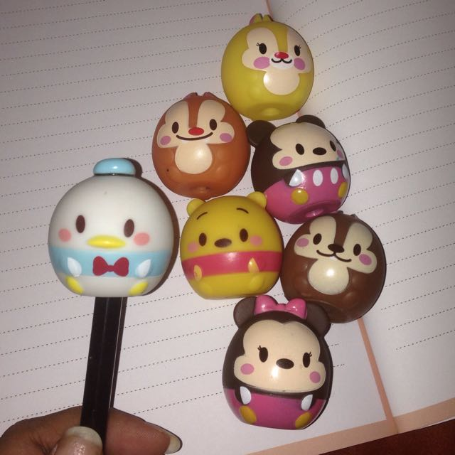 Figure Disney Pajangan Lucu Tsum Tsum Minnie Mickey Mouse Chip N Dale Donald Duck Winnie The Pooh