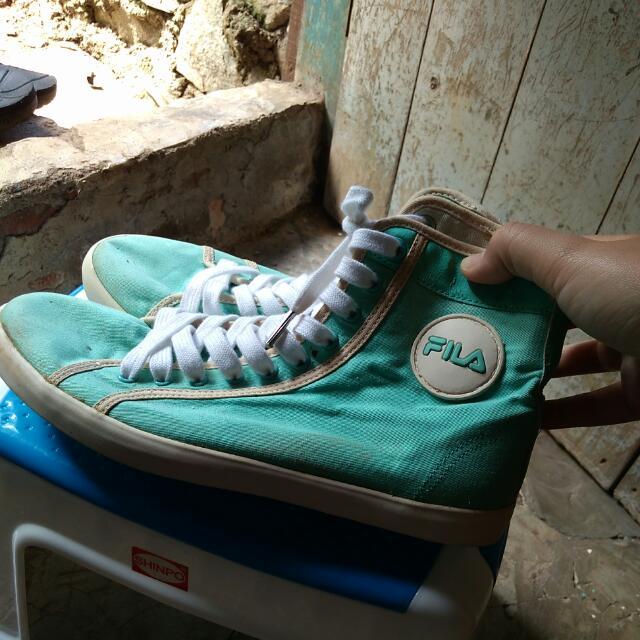Fila BootShoes Mint Green Size 39 Original