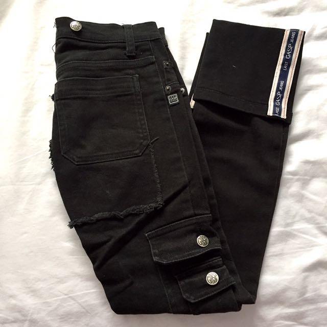 GASP Denim Straight Leg Jeans