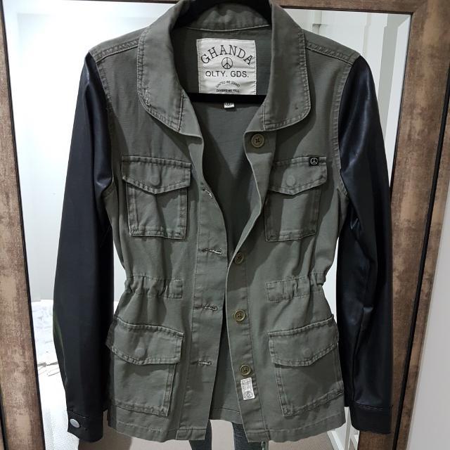 Ghanda Women's Military Jacket