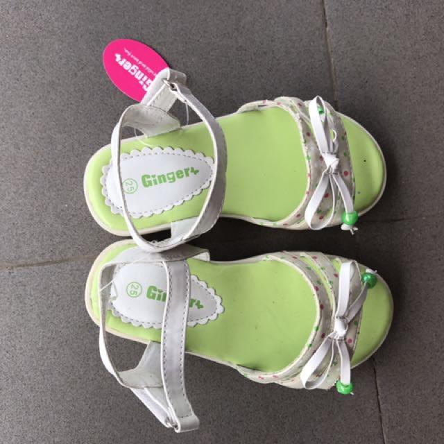 Ginger girl sandals