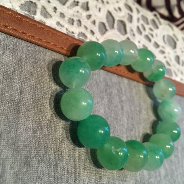 Green Pearly Bracelet
