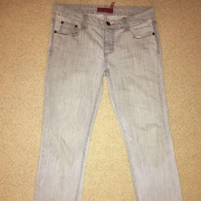 Grey Demi Jeans